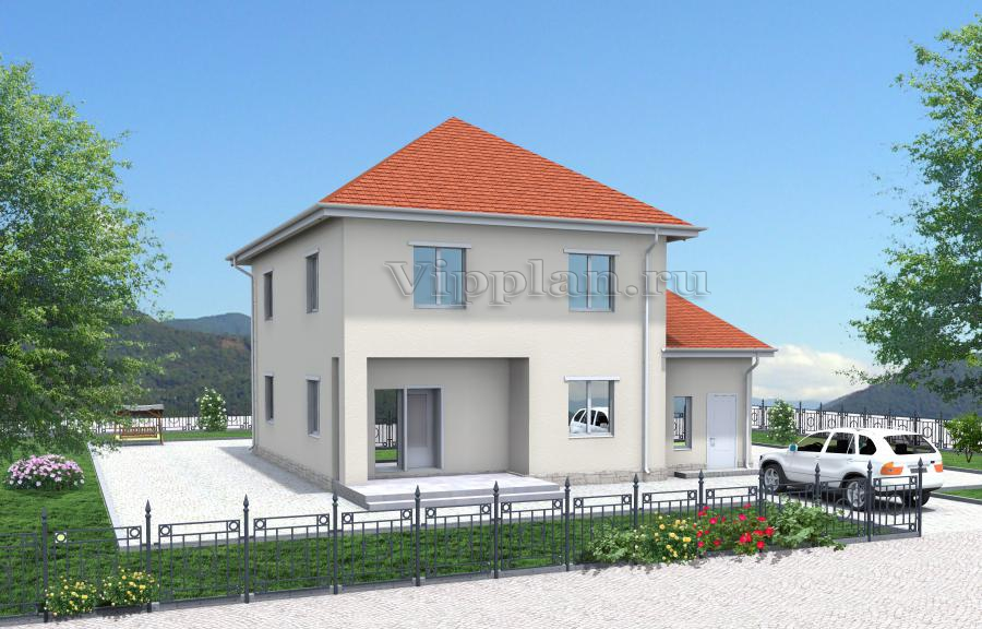 Дачный каркасный дом 6 на 9 Печора-14, планировка и цена